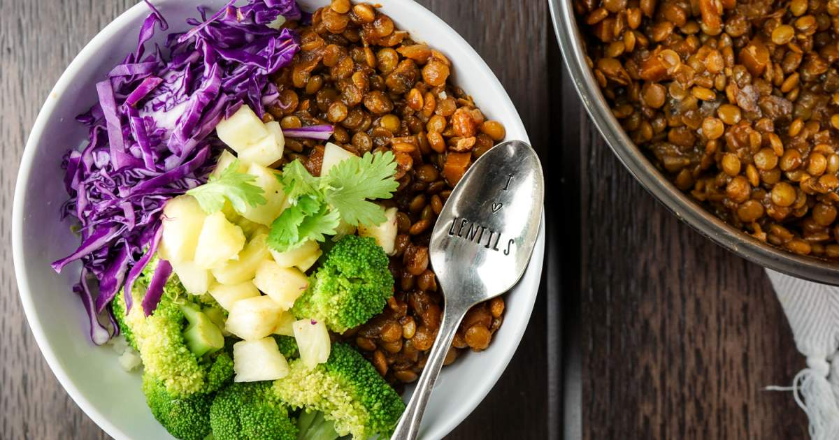 Easy Barbecue Lentils and Three Ways to Enjoy Them