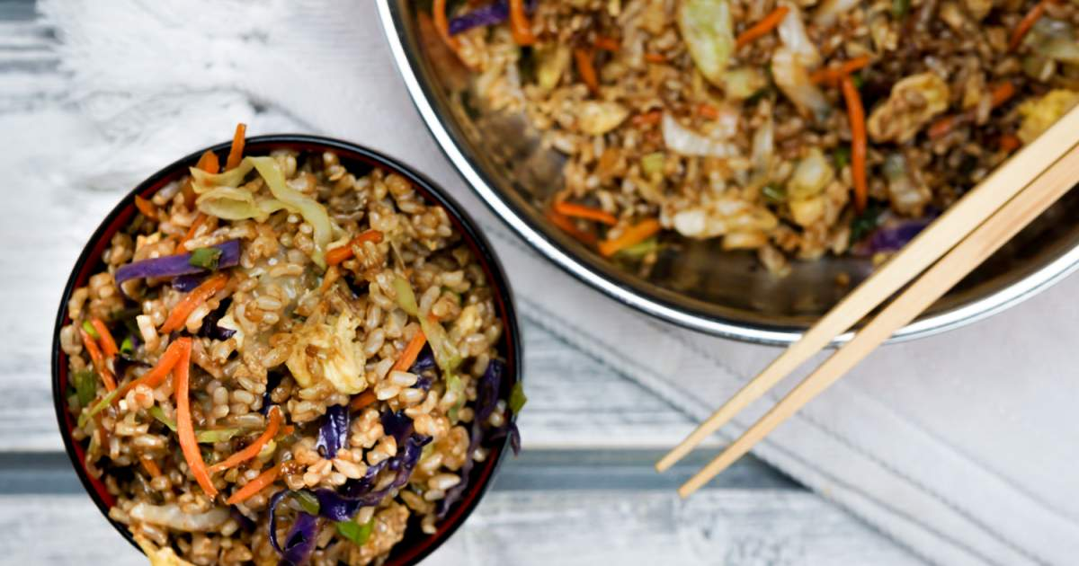 Healthy Fried Rice - Slender Kitchen