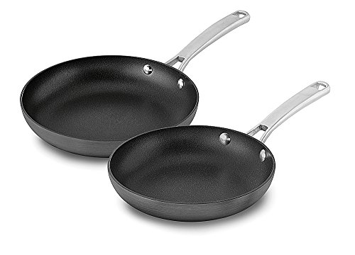 Calphalon 2 Piece Classic Nonstick Fry Pan Set, Gr...