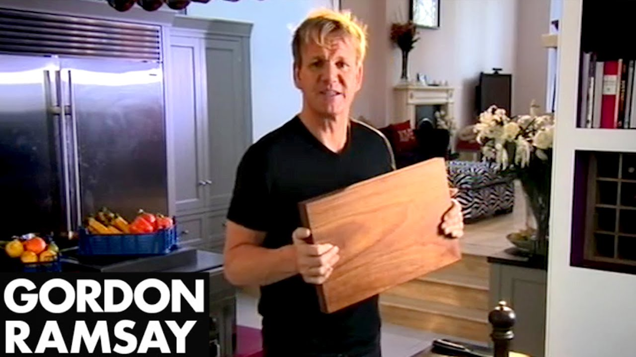 Gordon Ramsay's Kitchen Kit | What You Need To Be ...