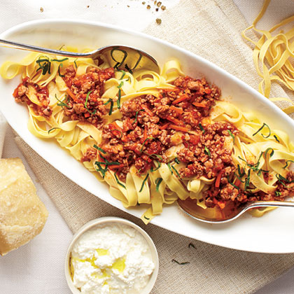 Pasta Pork Bolognese Recipe | MyRecipes