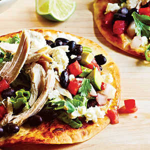How to Make Chicken Tostadas and Avocado Salsa