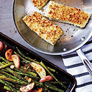Hazelnut-Crusted Halibut