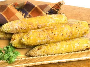 Cheesy Corn on the Cob Recipe