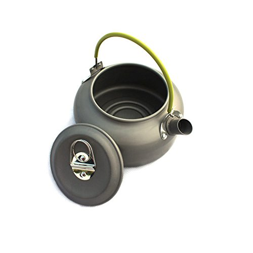 Aluminum Outdoor Camping Hiking Teakettle Teapot C...