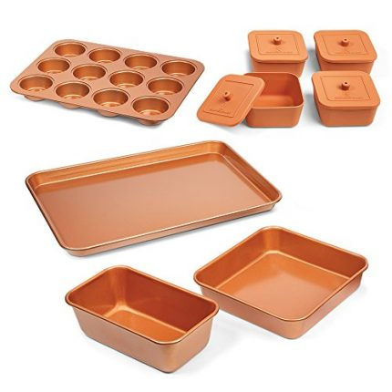 Copper Chef 12 Piece Bakeware Set