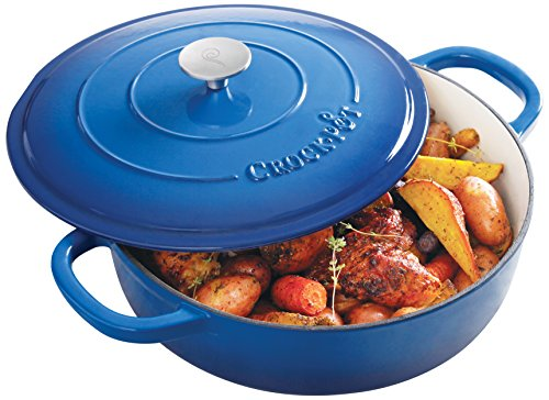 Crock Pot 111999.02 Artisan Enameled Cast Iron Rou...
