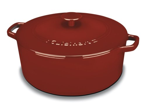 Cuisinart CI670-30CR Chef's Classic Enameled Cast ...