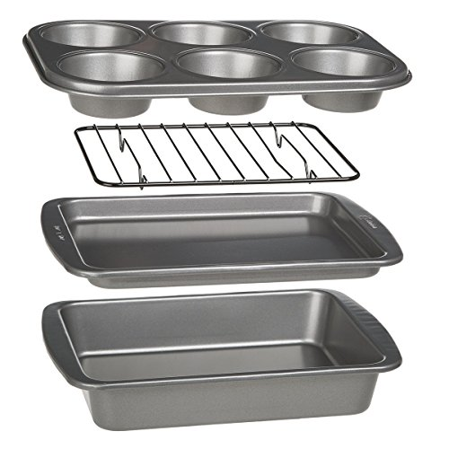 Ecolution Toaster Oven Bakeware 4-Piece Set | Nons...