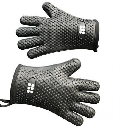 Heat Resistant BBQ Cooking Gloves & Oven Mitts. In...