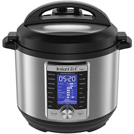 Instant Pot Ultra 6 Qt 10-in-1 Multi- Use Programm...
