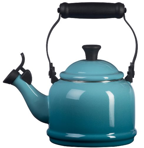 Le Creuset Enamel-on-Steel Demi 1-1/4-Quart Teaket...