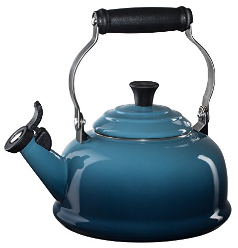 Le Creuset Enamel-on-Steel Whistling 1-4/5-Quart T...