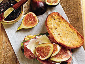 Prosciutto, Fresh Fig, and Manchego Sandwiches Rec...