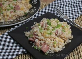 Fried Rice with Ham Recipe