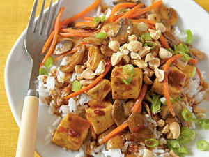 Szechuan-Style Tofu with Peanuts Recipe