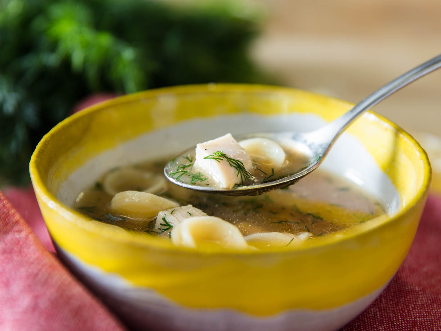 Simple Chicken Noodle Soup Means Delicious Is in t...