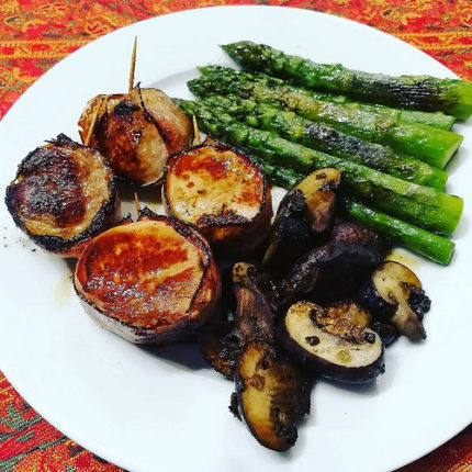 #whole30 #day3 #pork #asparagus #mushrooms #cleanfood #paleo #slowfood #paleodiet