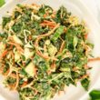 Asian Kale Apple Slaw - Slender Kitchen