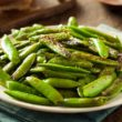 Garlic Sugar Snap Peas - Slender Kitchen